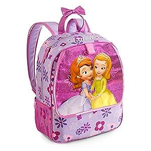 51fePfihgeL. SS300  - Disney Store - Mochila, diseño de Princesa Sofía, color morado