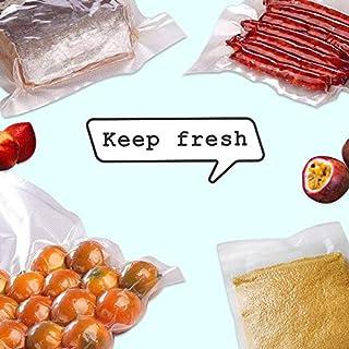 "100 Quart,Size 8"" x 12"" PreCut Sealer food vacuum Bag,Food Saver Vacuum Sealer Freezer Bags for Meal,Food Saver,Plus other..."