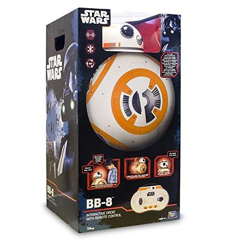 Star Wars - 7932 - BB8 - Robot Droid Interactif avec télécommande - 44 Cm
