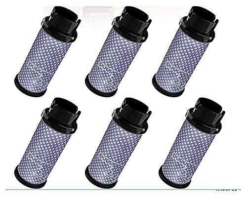 XUNLAN Paquete de filtro duradero para aspiradora inalámbrica, INSE N5, S6, S6P, S600, 2 unidades o 6 unidades portátiles (color 6 unidades)