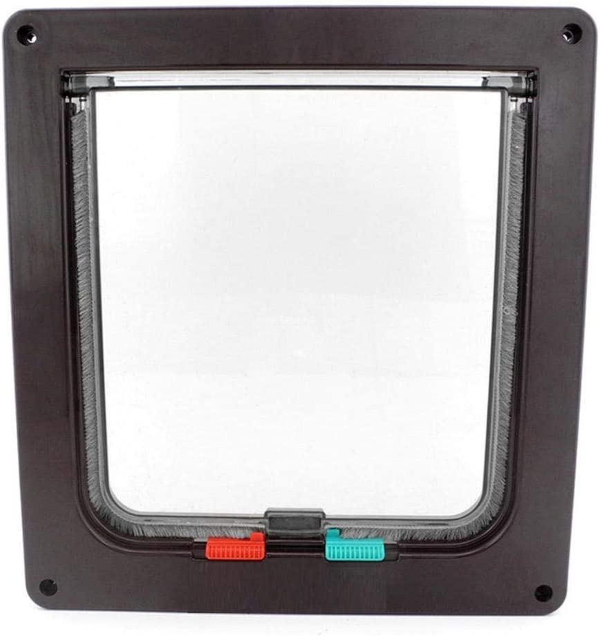 YITON Pet Door M List price Size New Special price for a limited time Waterproof Way Dog Locking F Cat 4