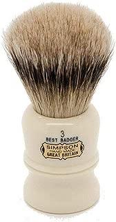 Simpson Shaving Brushes Duke D3 B Best Badger Handmade British Shaving Brush by Progress Shaving Brush (vulfix) Ltd