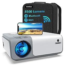 💥 Vrai 1080P & 8500 Lumens – Plus Net Et Plus Lumineux. Nous avons innové dans la technologie de la résolution en abandonnant le système à puce unique et utilisé une technologie à 3 puces, ce qui fait que ce projecteur fournit des images 1080p étonna...