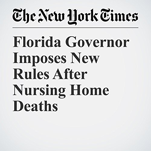 Florida Governor Imposes New Rules After Nursing Home Deaths copertina