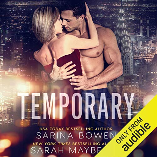 Temporary audiobook cover art