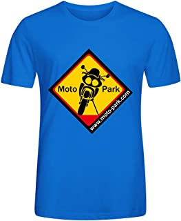 School Students' T-Shirt Blouse Motorcycle Icon Novelty Casual Cotton Men's Summer Casual T-shirt for Street Clothes