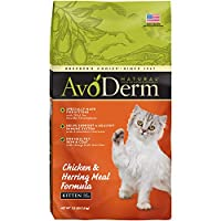 AvoDerm Natural Chicken and Herring Meal Corn Free Formula Kitten Food, 3.5-Pound by AvoDerm