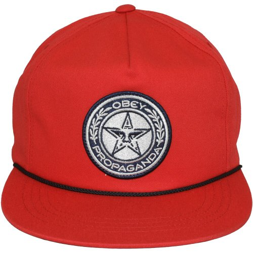 Obey - Casquette Snapback Homme Luxury - Red