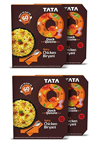 Tata Limited price sale Q Spicy Chicken Biryani 4 x 330 and Ready Ea to free g Heat eat