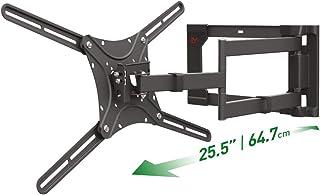 Barkan TV en monitor muurbeugel zwenk en kantelbaar 32-80 inch zwart