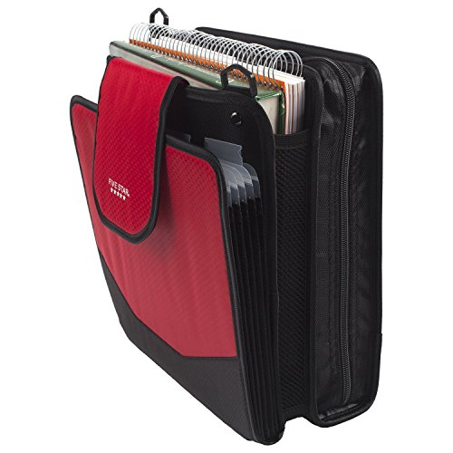 Five Star Sewn Zipper Binder, 2 Inch 3 Ring Binder With 4 Inch Capacity, Assorted Colors, Color Selected For You, 1 Count (28044) Photo #20