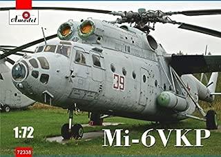 PLASTIC MODEL BUILDING KIT MI-6VKP SOVIET HELICOPTER 1/72 AMODEL 72338