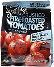 Frontera Gourmet Mexican Crushed Fire-Roasted 14.5 oz (Tomatoes Chipotle, 2 Pk)