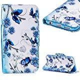 Cistor Wallet Case for iPhone 6/6S,Fancy 3D Painting Magnetic Closure Flip Cover Shockproof PU Leather Stand...