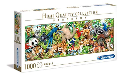 Clementoni Puzzle 1000 Piezas Panorama Wildlife, Color (39517.0)