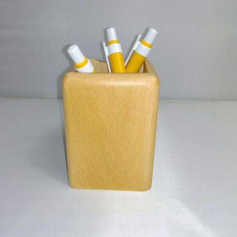 SUNHAO Natürliche buche Holz stifthalter Kreative Mode Student Student Student multifunktions bürobedarf Holz lagerung Stift holde B07Q5PVB43 | Verwendet in der Haltbarkeit  1c8f56