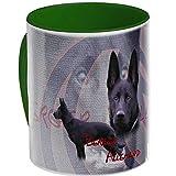 Pets-easy Mug de Chien Berger Allemand Noir