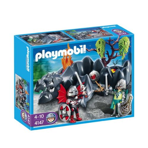 Playmobil - 4147 - Figurine - Compact Set - Chevaliers Dragons