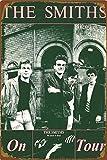 The Smiths On Tour Poster Retro Zinnschild Poster