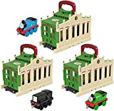 Thomas & Friends Connect & Go shed and Push-Along Train...