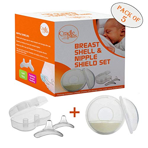 Discover Bargain Nippleshield and Breast Shell for Breast Feeding | Nipple Shield in Storage case | ...