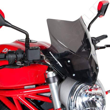 Barracuda Aerosport Windschild Ducati Monster 821/1200 '14-'18