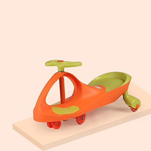 Kinder Spielzeug Auto Schütteln Das Auto Universal Rad Ungiftig PP Rohstoffe 3-7 Jahre Alt Jungen Und mädchen Auto (Farbe   Orange)