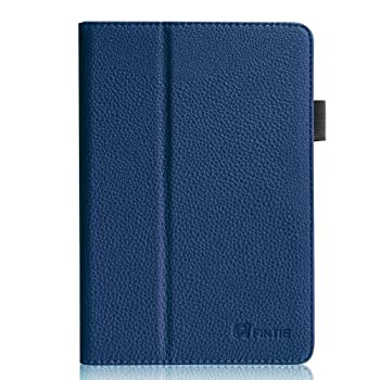 Fintie Folio Case for Kindle Fire HD 7   2013 Old Model  - Slim Fit Folio Case with Auto Sleep/Wake Feature  Will only fit Amazon Kindle Fire HD 7 Previous Generation - 3rd  Navy