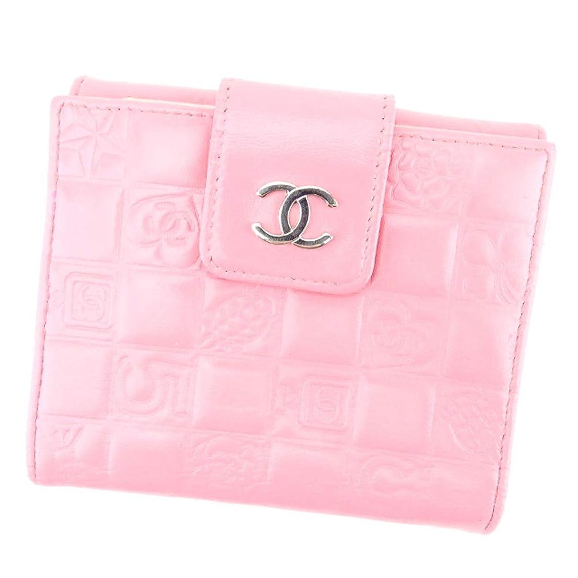 要旨ボスモッキンバード(CHANEL) シャネル 二つ折り 財布 レディース アイコンシリーズ 中古 T4159