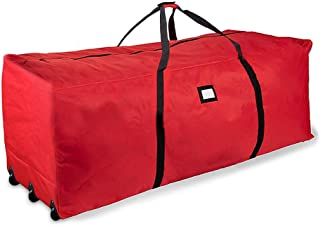 ProPik Holiday Rolling Tree Storage Bag, Extra Large Heavy Duty Storage Container, 28