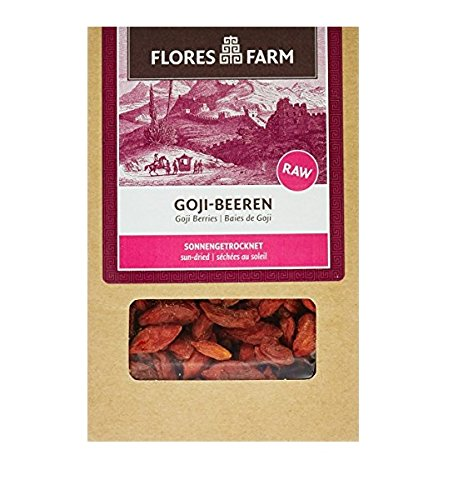 Flores Farm Goji-Beeren, 3er Pack (3 x 100 g)