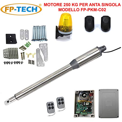 Automatische poort voor 2 deuren, elektrische hefopener, 24 V, 220 V. 1 Motore Singolo 250 Kg 40 W 24 V