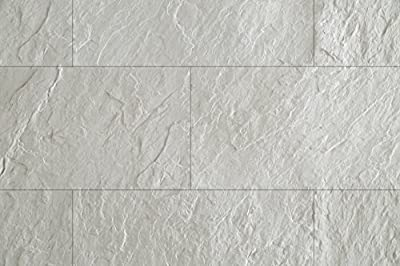 WoodyWalls Peel and Stick Modified Clay Panels for Kitchen Backsplash   Premium Set of 10 Clay Tiles (17.7 sq. ft. per Box) Sea Cliff