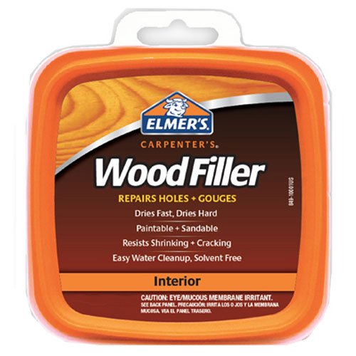 Elmer's E842L Carpenter's Interior Wood Filler; 32 Ounce; 1 Quart