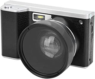 Dpofirs 1080P Digital Camera with IPS HD Touch Screen, 0.45 X Wide Angle Lens 8X Digital Zoom Photography Camera with Buil...