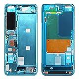 Avant Boîtier Cadre LCD Bezel Plaque for Xiaomi Mi 10 5G Pièce de Rechange (Color : Blue)