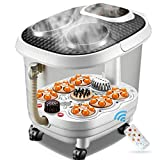 Foot SPA Bath Massager, Pamper Your Feet with Heat, Bubbles and Massaging Tools