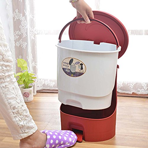 QFF Style européen haut de gamme mode créative couvert de poubelles pédale salle de bain salle de séjour cuisine pied pédale corbeille