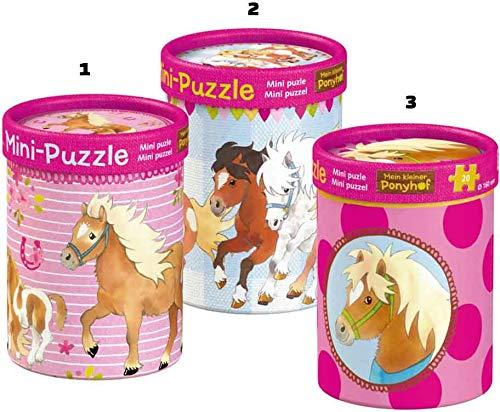 Die Spiegelburg 14789 Mini-Puzzles Mein Kleiner Ponyhof (20 Teile) - 1 Stück