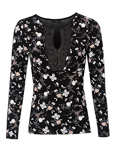 Vive Maria Indochina Lace Shirt Langarmshirt schwarz M