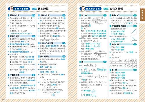 増進堂・受験研究社『小学高学年自由自在算数』