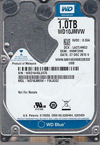 WD10JMVW-11AJGS2, DCM HHMT2HK, Western Digital 1TB USB 2.5 Hard Drive