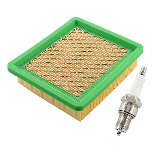 HURI Luftfilter mit Zündkerze für Fuxtec FX-RM1855 FX-RM1860 FX-RM2055 FX-RM2060 FX-RM2060PRO FX-RM2060S FX-RM20SA60 FX-RM 5.5 5.0 Rasenmäher