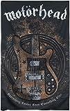 Motörhead Lemmy's Bass Unisex Bandera Multicolor, 100% poliéster,