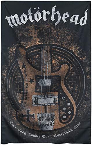 Motörhead Lemmy's Bass Unisex Flagge Multicolor 100% Polyester Band-Merch, Bands