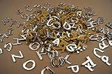 250+ Plexiglas kleine Buchstaben (1cm) Alphabet Dekoration Selbstklebend (NF19)