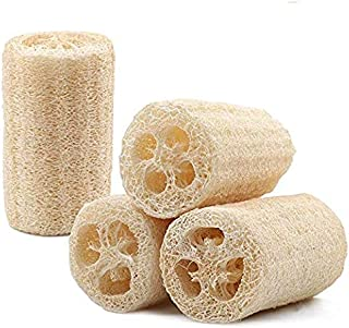 Esponjas orgánicas de alta calidad para el baño de esponjas y para la piel, 100% de esponjas naturales, 4 cocinas, baños y otros lugares sin rasguños para el lavado de esponjas