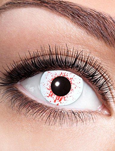 Kontaktlinse Bloodsplat dpt. -1,0 bis -4,0 Größe: -1,0 Dioptrien