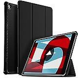 ELTD Hülle für Huawei MediaPad M5 10.8,Ultra Leightweight Flip Hülle mit Ständer Funktion & Eingebautem Magnet Hochwertiges PU Leder Schutzhülle für Huawei MediaPad M5 10.8 Zoll [Schwarz]