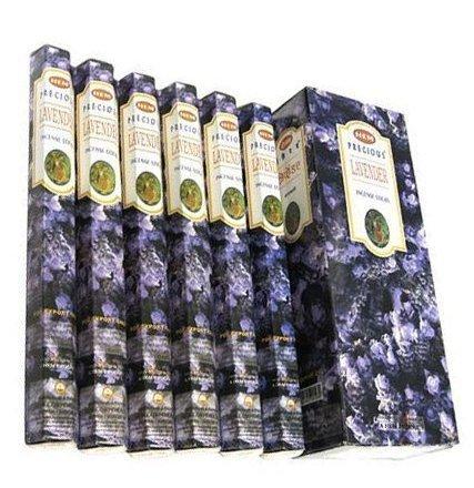 Hem Precious Lavender Räucherstäbchen riechen Lavendel. Paket mit 120 Stäbchen aus hochwertigem Weihrauch